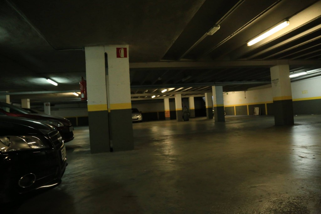 Parking Hortalegre, aeropuerto de Manises