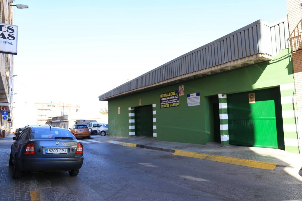 Parking Hortalegre, parking barato Valencia