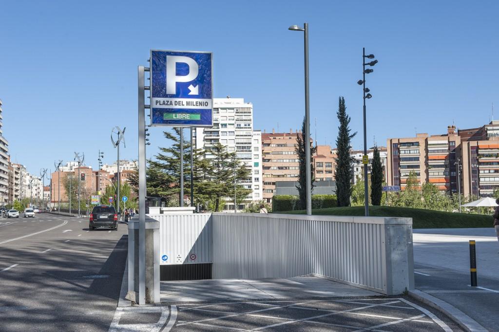 Parking en el centro de valladolid reservas online for Entradas 4 milenio