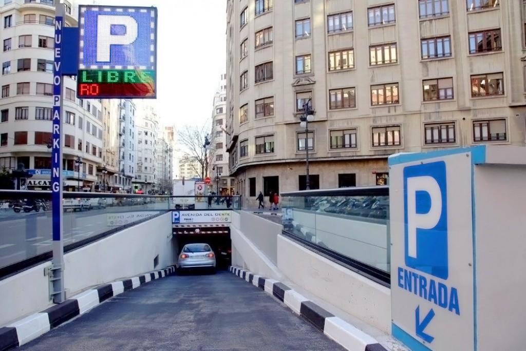 Parking Avenida del Oeste