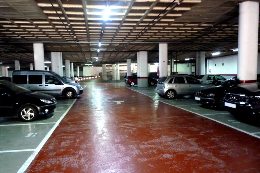 parking  low cost san ildefonso