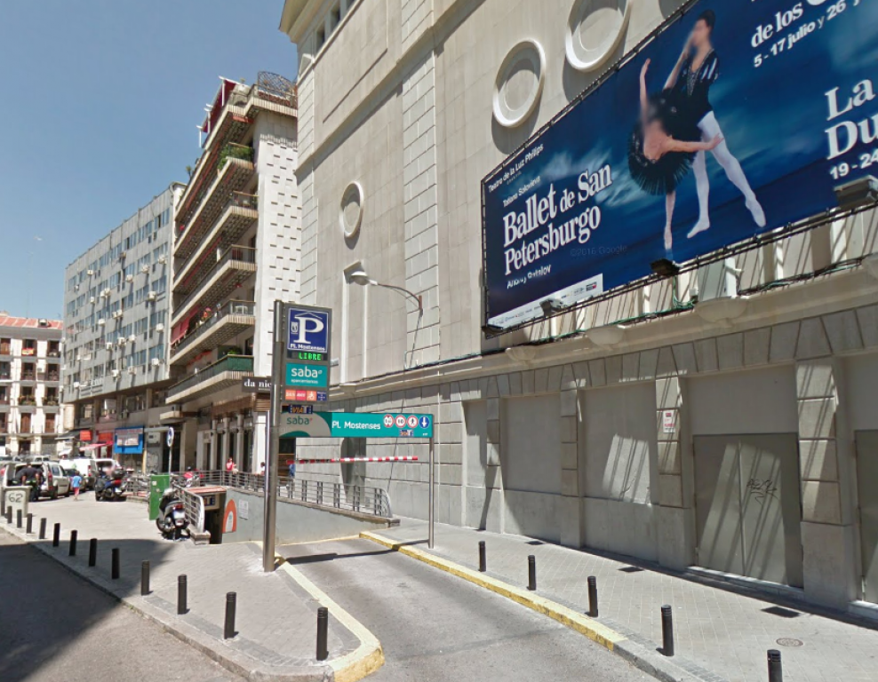 Parking Plaza Mostenses Madrid