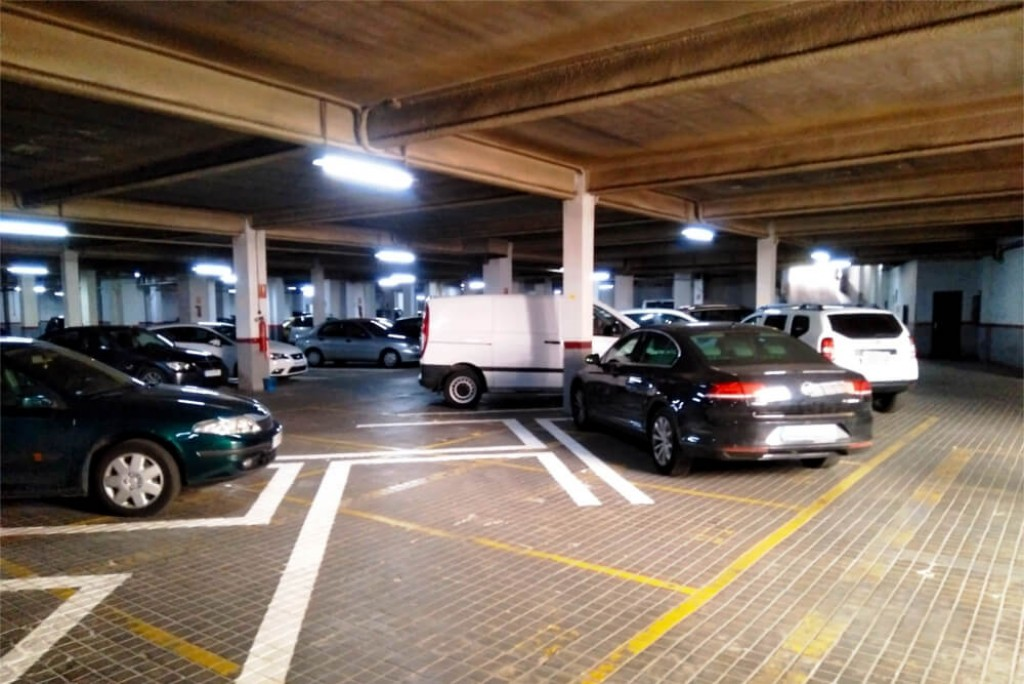 Parking Calle Ibiza Madrid