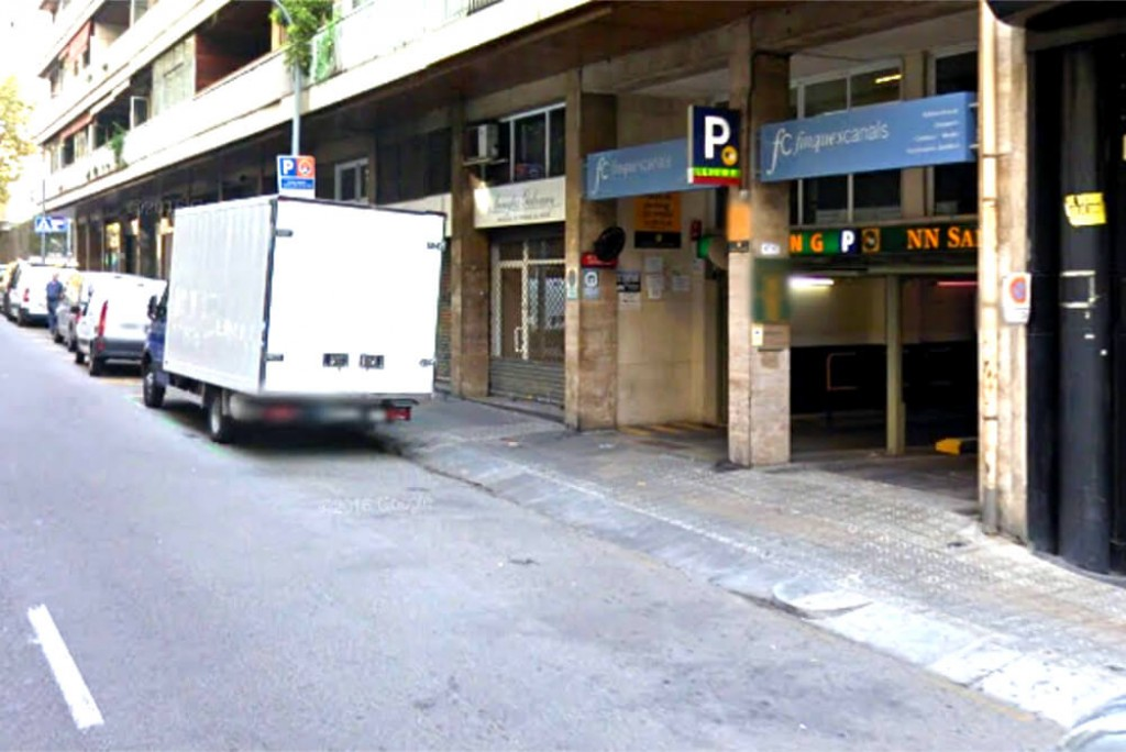Parking Santaló Barcelona bien comunicado