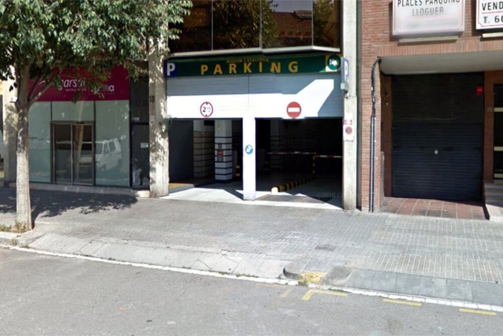 Plaza de aparcamiento en Parking Sants - NN Master Catalonia