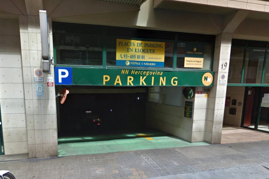 Reservar plaza de parking en Barcelona barato