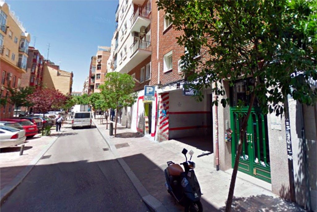 Parking en Cuatro Caminos Madrid