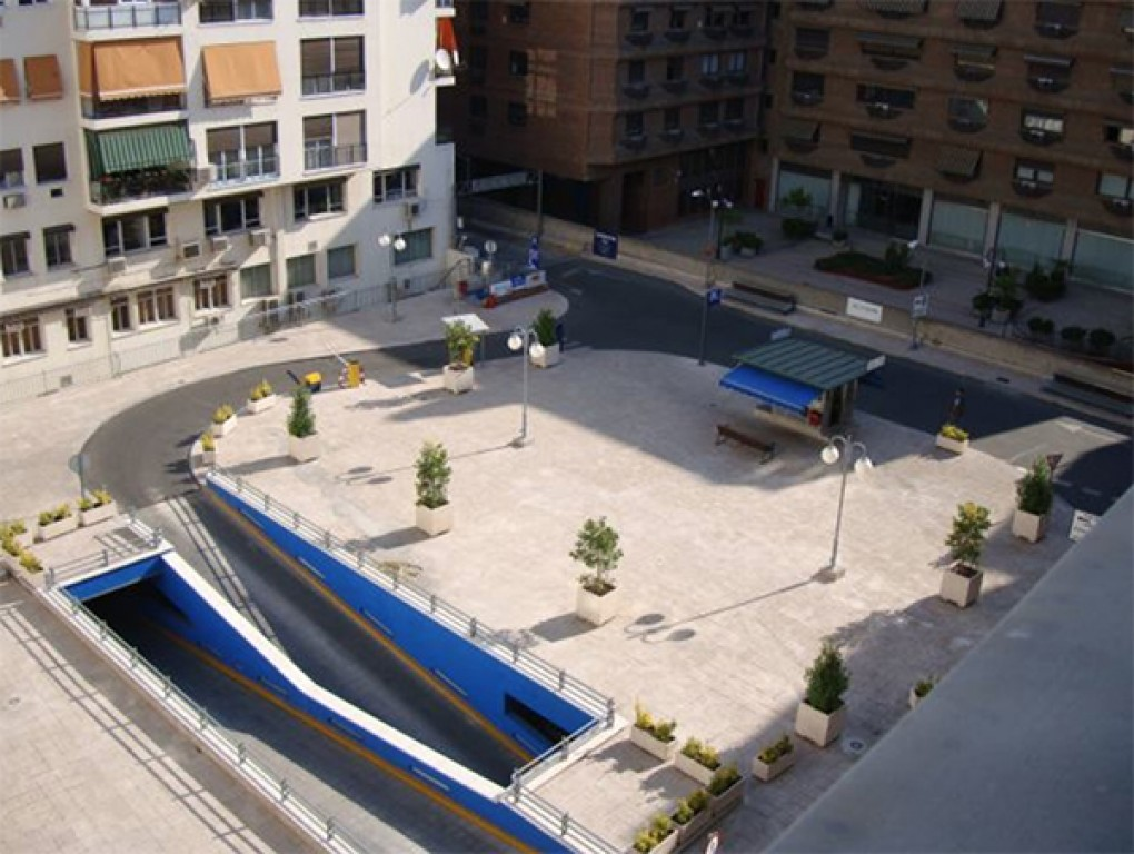Parking Martinez campos - Barrio de Almagro