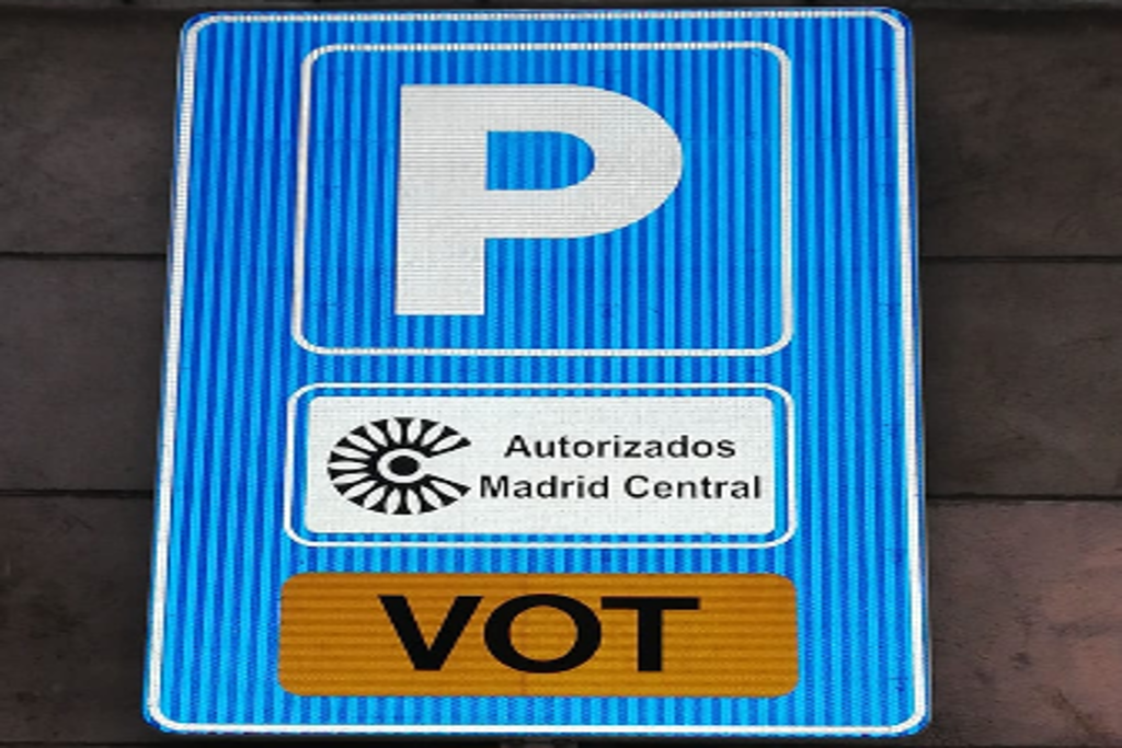Parking autorizado Madrid Central