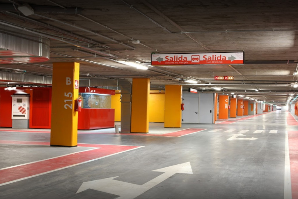 Hospital MIguel Servet - App Parking Zaragoza