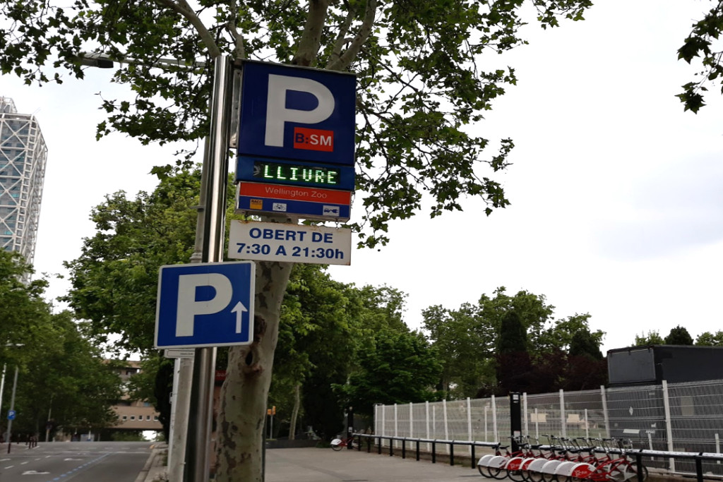 Reserva parking Barcelona - App parking Barcelona